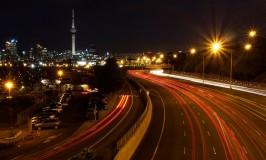 night lights of auckland
