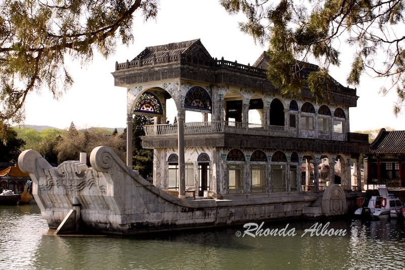 The marble boat - no, it doesn't really float - Beijing China