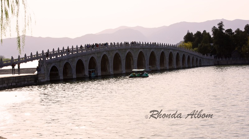 Seventeen Archway Bridge at Summer Palace in Beijing China