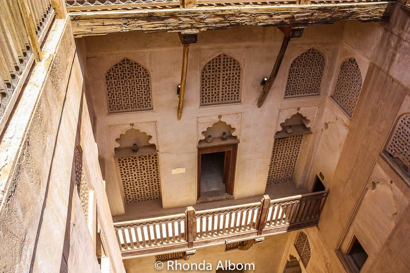 Jabrin Castle in Oman
