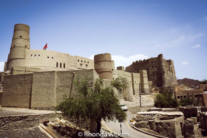 Bahla fort in Oman