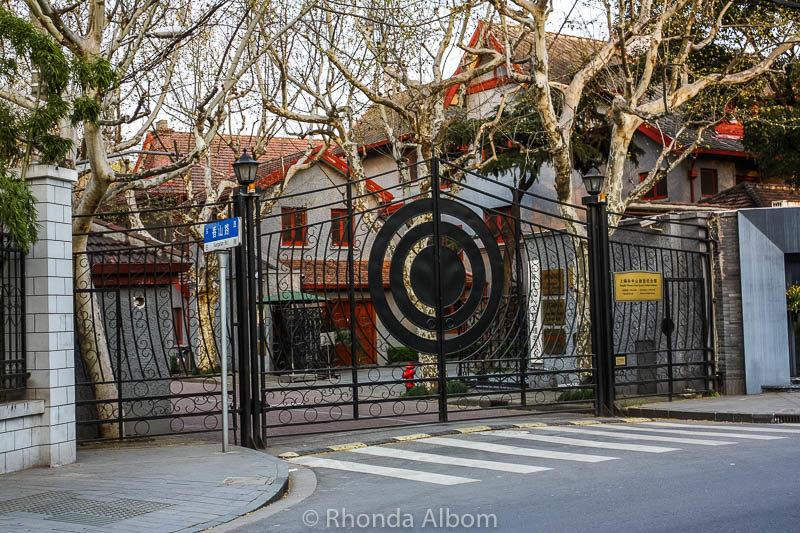 Former home of Sun Yat Sen in Shanghai China