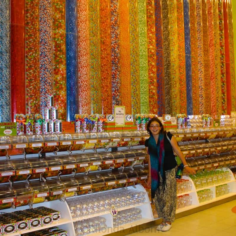 World's largest candy store inside the Dubai Mall
