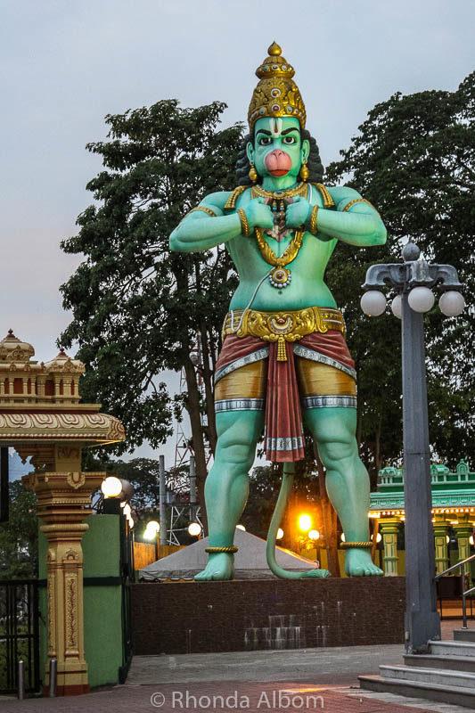 The Monkey God outside Kuala Lumpur Malaysia