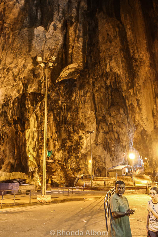 Inside Batu Caves in Kuala Lumpur, Malaysia