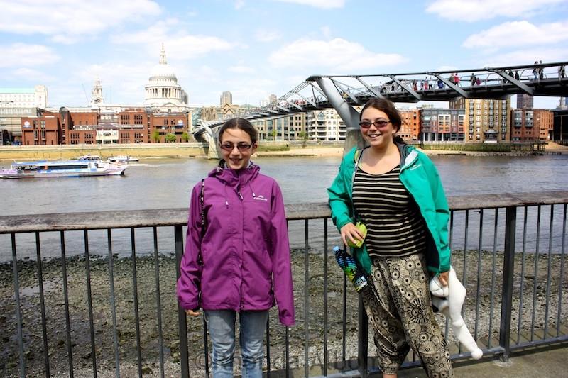 Harry Potter bridge in London