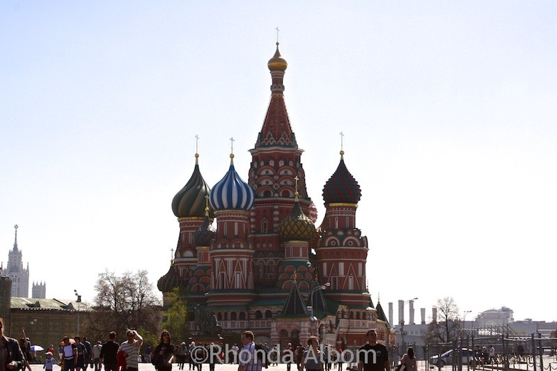 St. Basil's Cathedral in Moscow, Rusia