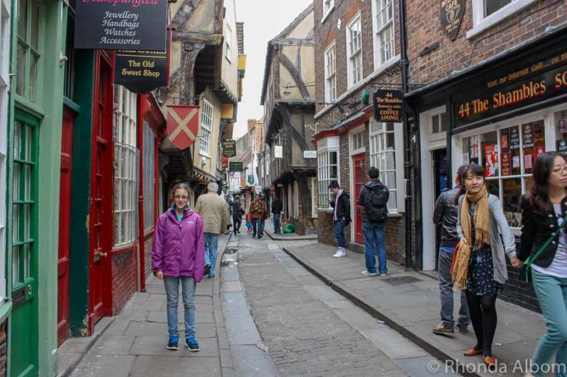 Shambles in York, England