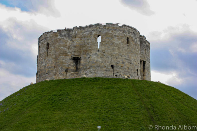 Clifford's Tower in York is a stop on our recommended England road trip