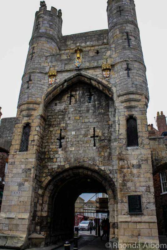York City Wall, York England