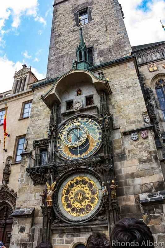 Astronomical Clock in Old Town Square, Prague, Czech Republic.