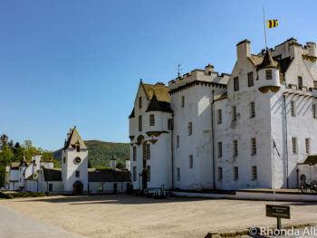 Blair Castle in Scottish Highlands