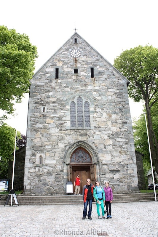 Main cathedral in Stavanger, Norway