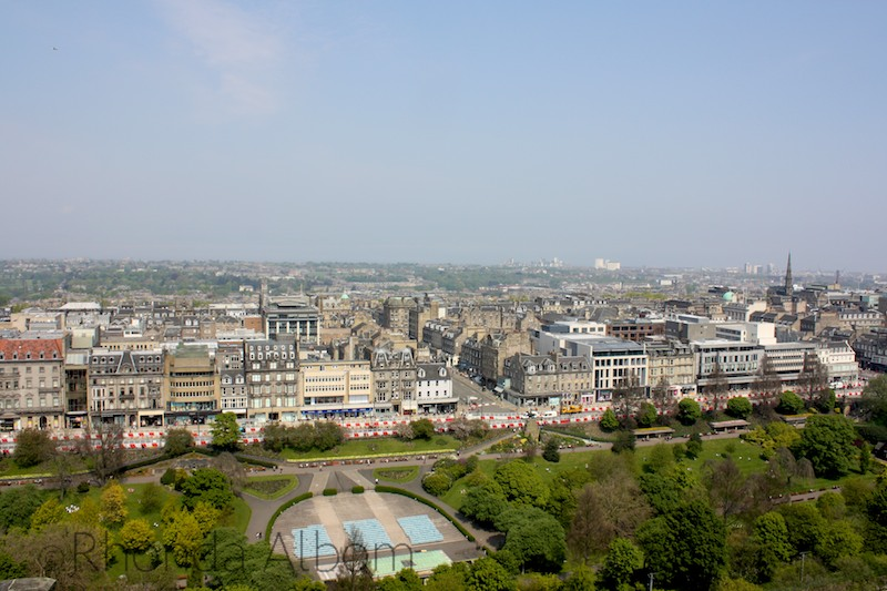View from Edinburgh Castle, Scotland