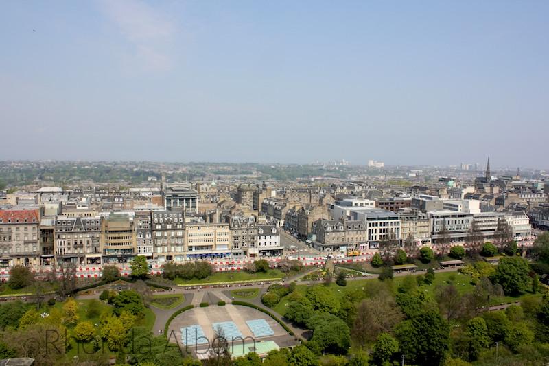 View from Edinburgh Castle, Scotland