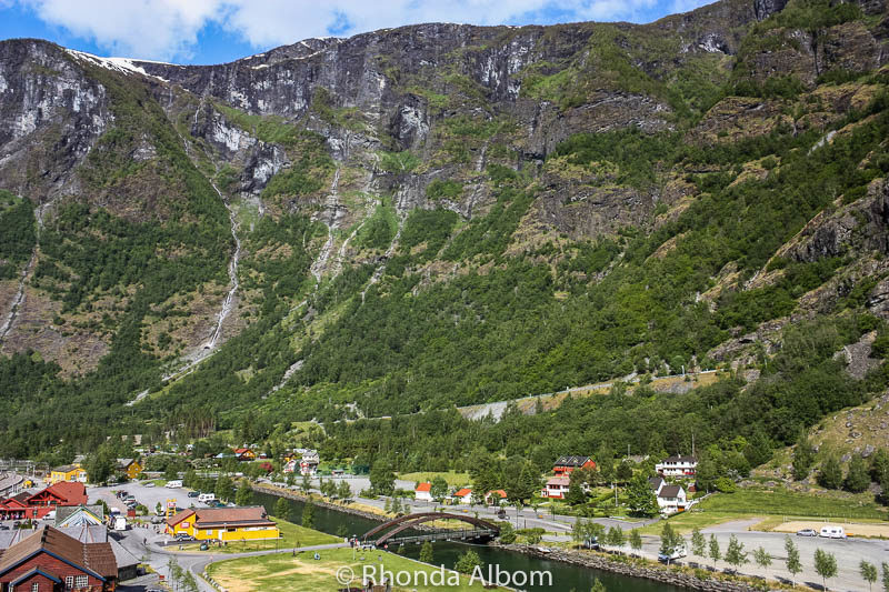 Flam Norway shot from ship