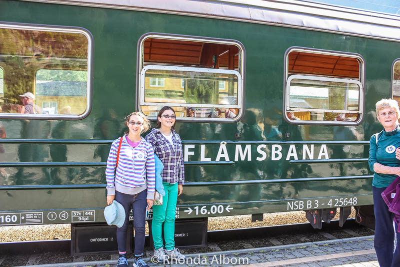 Flamsbana train from Voss back to Flaam