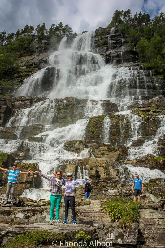 Tvindefossen waterfall is the fountain of youth in Norway