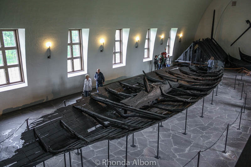 Viking Ship Museum in Oslo Norway
