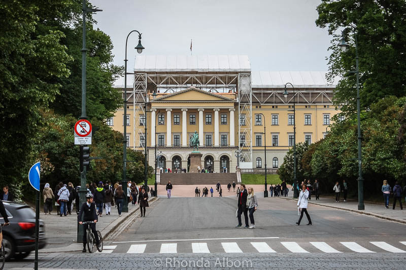 Royal Palace of Norway in Oslo