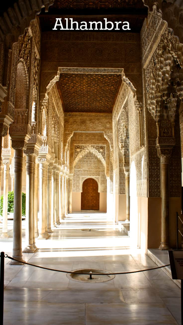 Visiting the Alhambra in Spain. For more information visit the blog
