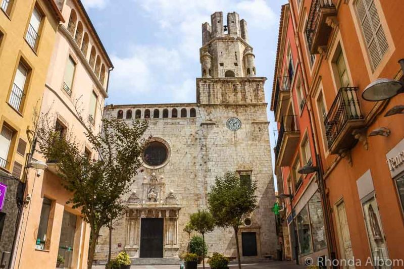 Iglesias de Sant Marti in Palafrugall, Spain