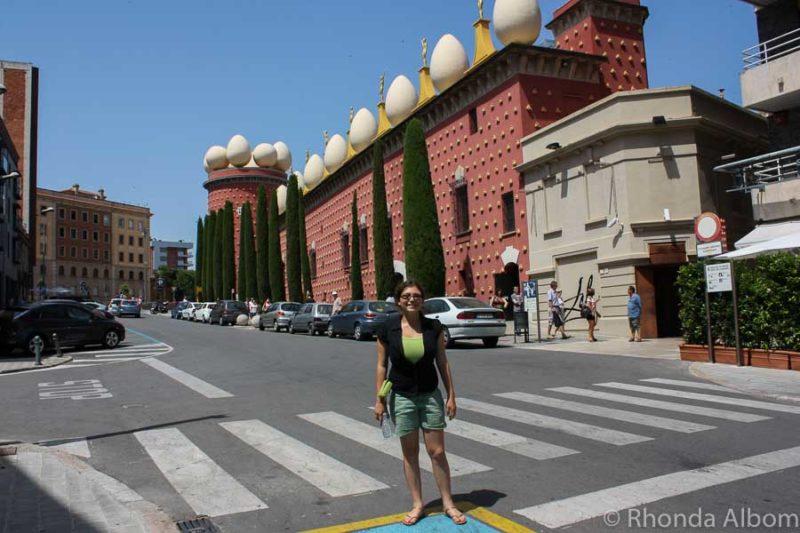Teatre Museu Dali in Figueres, Spain