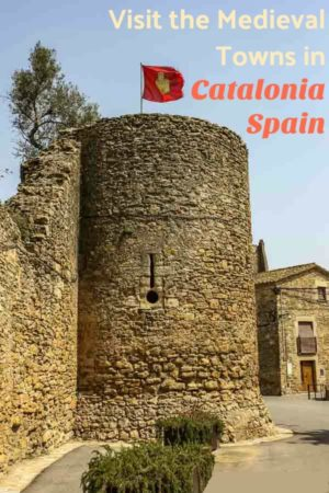 Medieval Towns in Catalonia Spain