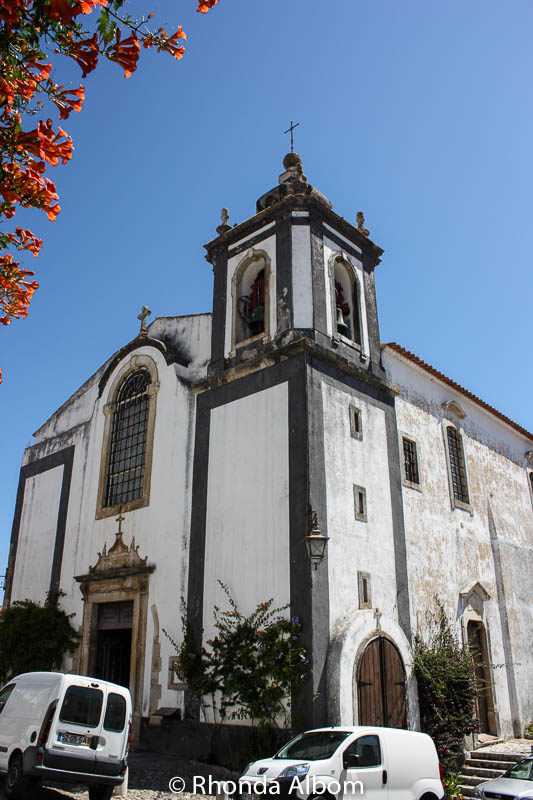 The Church of Santa Maria de Obidos was erected in 1148 in Obidos Portugal