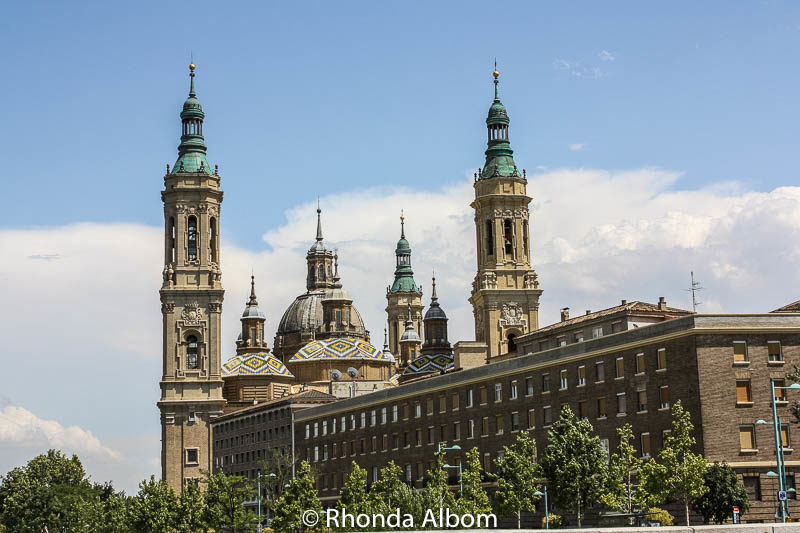 Cathedral-Basilica of Our Lady of the Pillar in Saragossa Spain