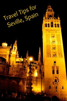 Travel tips for Seville Spain