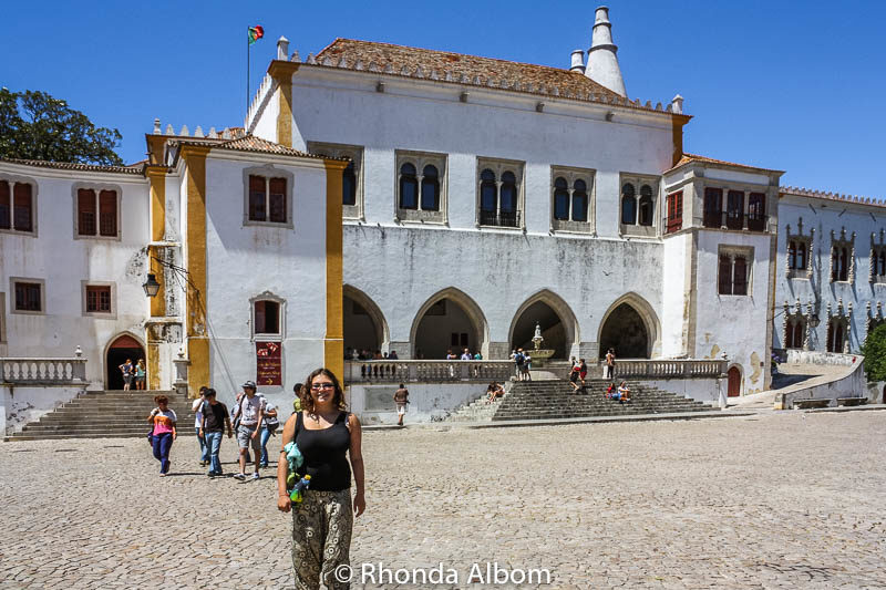 The National Palace of Sintra in Portugal