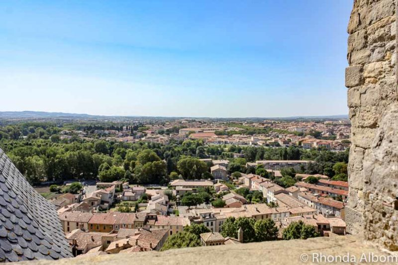 Enjoying the view from the castle is one on many things to do in Carcassonne