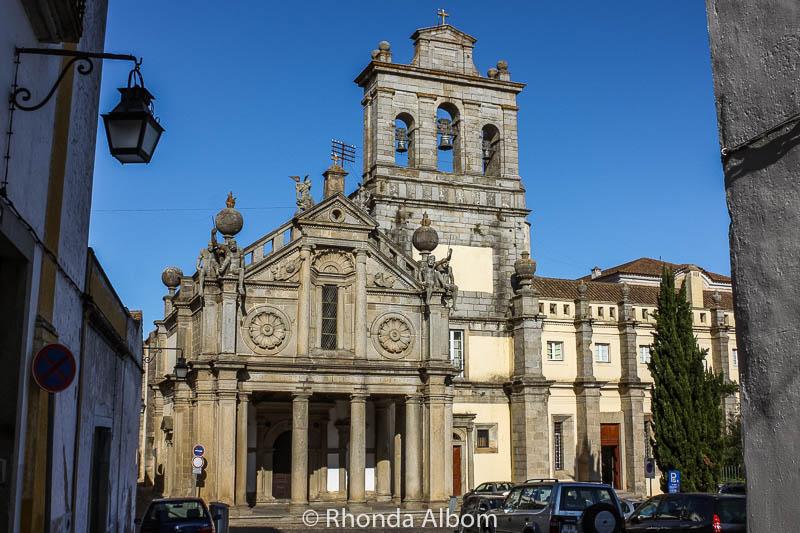 Church of Nossa Senhora da Graça in Evora Portugal