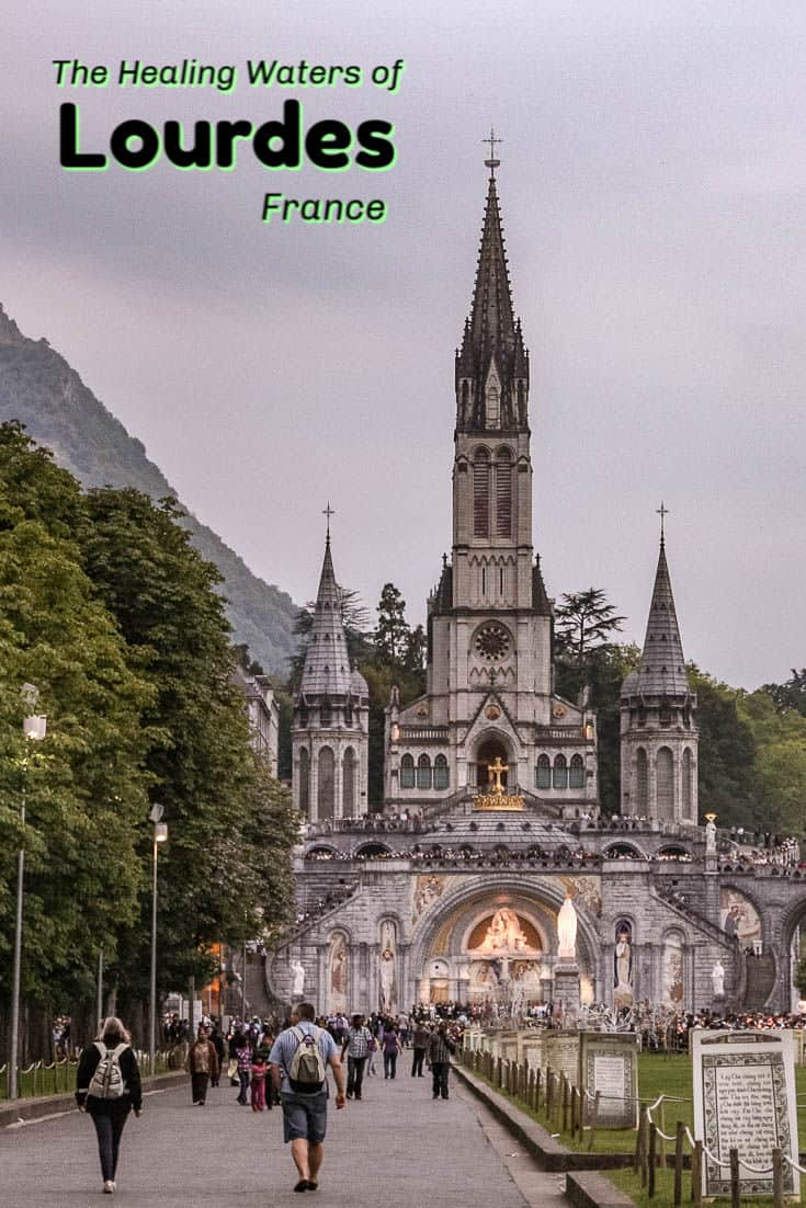 Lourdes is a one of the most spiritual cities on earth. A Catholic pilgrimage destination, it is famous for its healing waters