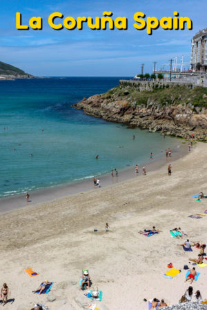 La Coruña is located on a rocky peninsula in the Northwest corner of Spain. Its a coastal community, with beautiful beaches, the world's oldest working lighthouse, and plenty of things to do