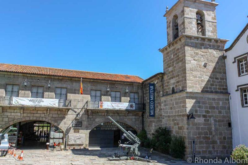 Military Museum in A Coruna Spain