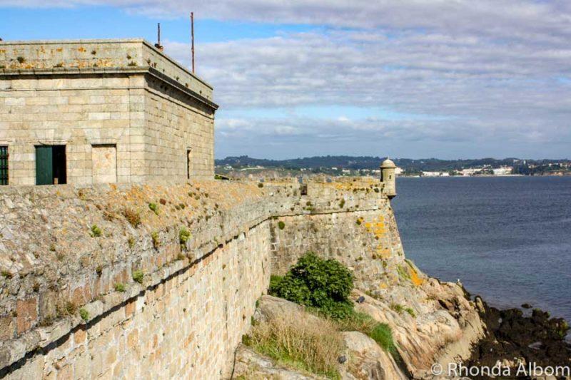 Castillo de San Anton in northern Spain