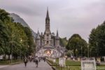 Sanctuary of Our Lady of Lourdes in Lourdes France