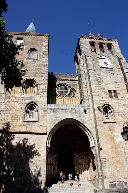 St. Maria Cathedral in Evora Portugal