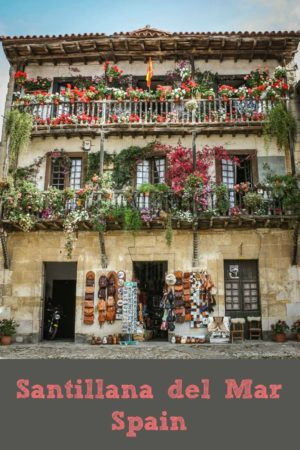 Santillana Del Mar Spain. This is just one of a collection of colourful images