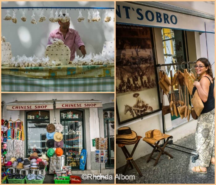 A variety of places to shop in Portugal
