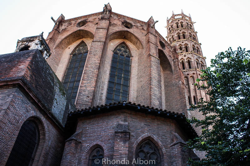 A visit to Jacobin Convent should be on any list of what to do in Toulouse France