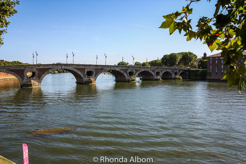 Pont Neuf is the oldest bridge in Toulouse France