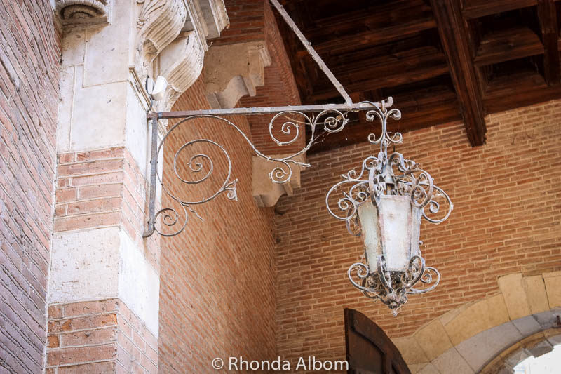 A lamppost in Toulouse France