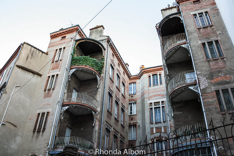 Wandering the streets of Toulouse France