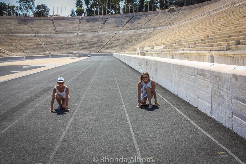 Panathenaic (Olympic) Stadium in Athens Greece