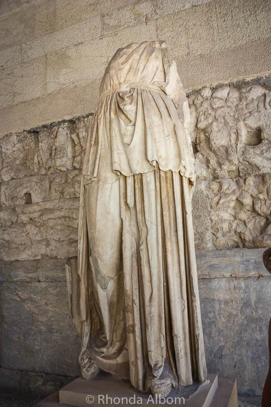Agora in Athens Greece