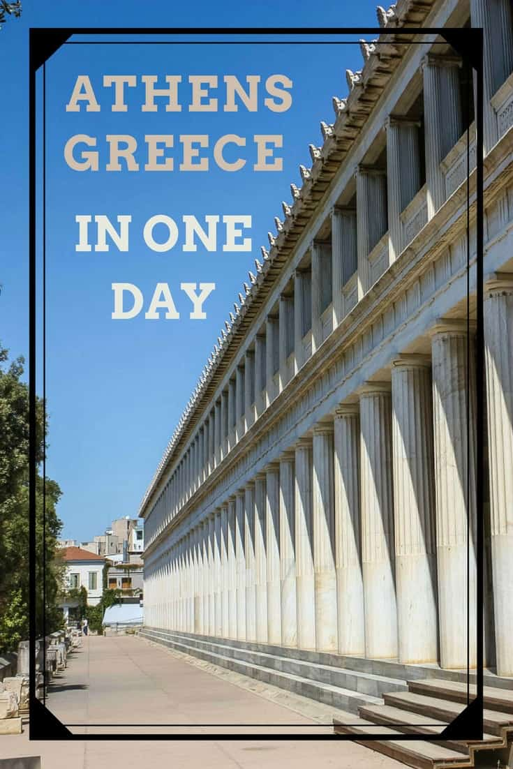 This image is just one of 23 that we saw in Athens Greece, a city filled with ancient historic sites. Read the article to see more.