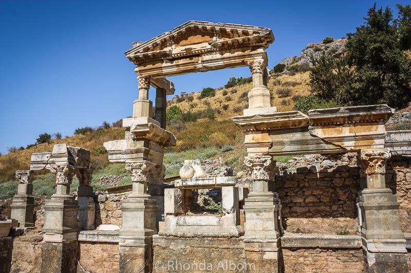 The ancient city of Ephesus in Turkey